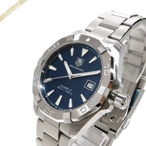 タグホイヤー TAG Heuer メンズ 腕時計 アクサレーサー キャリバー5 40.5mm 自動巻き ブルー×シルバー WAY2112.BA0928 [在庫品]|brandol