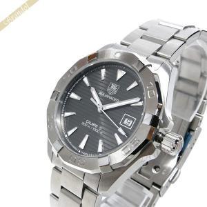 タグホイヤー TAG Heuer メンズ 腕時計 アクサレーサー キャリバー5 40.5mm 自動巻き グレー×シルバー WAY2113.BA0928 [在庫品]|brandol