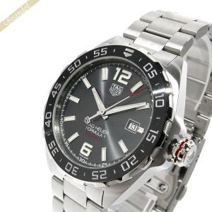 タグホイヤー TAG Heuer メンズ腕時計 フォーミュラ1 43mm 自動巻き グレー×シルバー WAZ2011.BA0842 [在庫品]|brandol