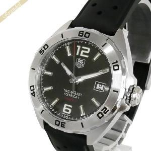 タグホイヤー TAG Heuer メンズ腕時計 フォーミュラ1 キャリバー5 41mm 自動巻き ブラック×シルバー WAZ2113.FT8023 [在庫品]|brandol