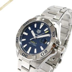 タグホイヤー TAG Heuer メンズ腕時計 アクアレーサー キャリバー5 41mm 自動巻き ネイビー×シルバー WBD2112.BA0928 [在庫品]|brandol