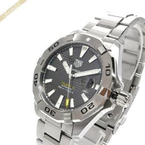 タグホイヤー TAG Heuer メンズ腕時計 アクアレーサー キャリバー5 41mm 自動巻き グレー×シルバー WBD2113.BA0928 [在庫品]|brandol