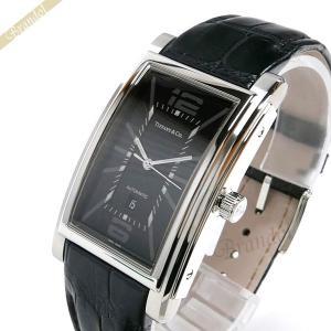 ティファニー Tiffany メンズ腕時計 グランド オートマチック 42mm ブラック Z0031.68.10A10A70A [在庫品]|brandol