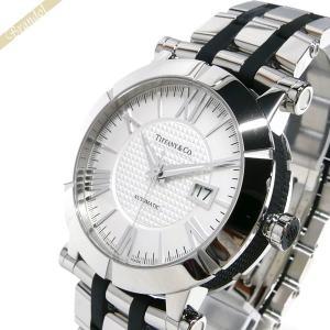 ティファニー Tiffany メンズ腕時計 アトラス ジェント オートマチック 42mm シルバー×ブラック Z1000.70.12A21A00A [在庫品]|brandol