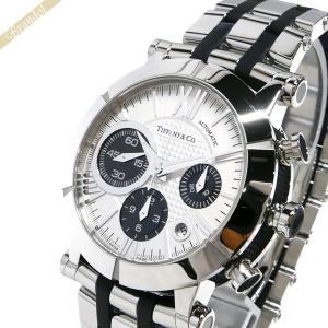 ティファニー Tiffany メンズ腕時計 アトラス ジェント オートマチック クロノグラフ 42mm シルバー×ブラック Z1000.82.12A21A00A [在庫品]|brandol