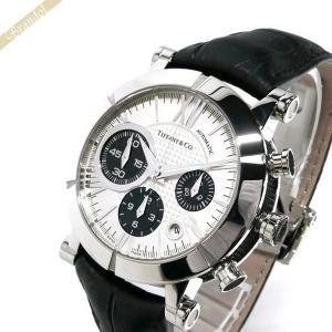 ティファニー Tiffany メンズ腕時計 アトラス ジェント オート クロノ 42mm シルバー×ブラック Z1000.82.12A21A71A [在庫品]|brandol