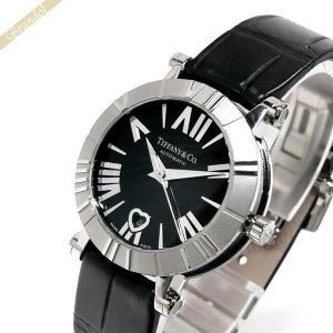 ティファニー Tiffany レディース 腕時計 アトラス 30mm 自動巻き ブラック Z1300.68.11A10A71A [在庫品]|brandol