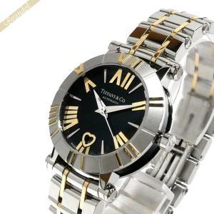 ティファニー Tiffany レディース腕時計 アトラス Atlas 30mm 自動巻き ブラック×ゴールド×シルバー Z1300.68.16A10A00A [在庫品]|brandol