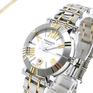 ティファニー Tiffany レディース 腕時計 アトラス K18YG 30mm 自動巻き ホワイト×シルバー×ゴールド Z1300.68.16A20A00A [在庫品]|brandol