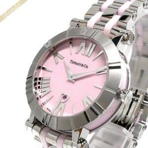ティファニー Tiffany レディース腕時計 アトラス Atlas 36mm ピンク×シルバー Z1301.11.11A31A00A [在庫品] brandol