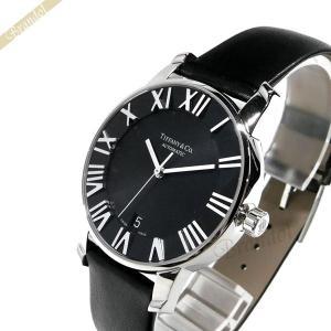 ティファニー Tiffany メンズ 腕時計 アトラス ドーム オートマチック 37mm 自動巻き ブラック Z1800.68.10A10A50A [在庫品]|brandol