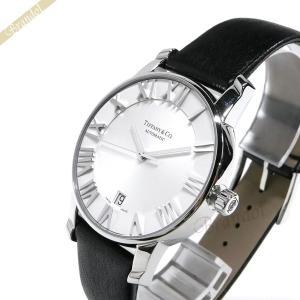 ティファニー Tiffany メンズ 腕時計 アトラス ドーム オートマチック 37mm 自動巻き ホワイト×ブラック Z1800.68.10A21A50A [在庫品]|brandol
