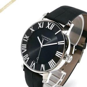 ティファニー Tiffany メンズ腕時計 アトラス ドーム オートマチック 42mm ブラック Z1810.68.10A10A50A [在庫品]|brandol