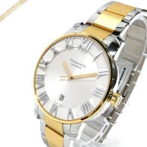 ティファニー Tiffany メンズ腕時計 アトラス ドーム オートマチック 42mm シルバー×ゴールド Z1810.68.15A21A00A [在庫品]|brandol