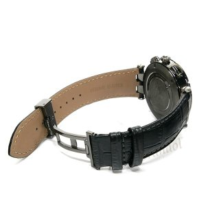 ヴェルサーチ VERSACE メンズ腕時計 Vレース GMT アラーム 46mm シルバー×ブラック 29G98D535S009 [在庫品] brandol 05