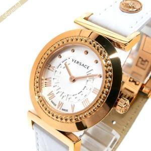 ヴェルサーチ VERSACE レディース 腕時計 ヴァニティ 35mm シルバー×ホワイト P5Q80D001S001 [在庫品]|brandol