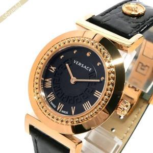 ヴェルサーチ VERSACE レディース 腕時計 ヴァニティ 35mm ブラック×ゴールド P5Q80D009S009 [在庫品]|brandol