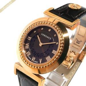 ヴェルサーチ VERSACE レディース 腕時計 ヴァニティ 35mm ブラウン×ゴールド P5Q80D598S497 [在庫品]|brandol