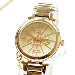 ヴィヴィアンウエストウッド Vivienne Westwood レディース腕時計 オーブロゴ キーチャーム 32mm ゴールド VV006KGD [在庫品]|brandol