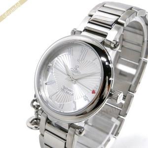 ヴィヴィアンウエストウッド Vivienne Westwood レディース腕時計 オーブチャーム付き オーブ 32mm シルバー VV006SL [在庫品]|brandol