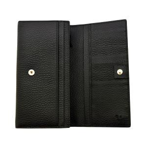 グッチ財布 GUCCI 二つ折り長財布 メンズ ブラック 449279 アウトレット|brandream|04
