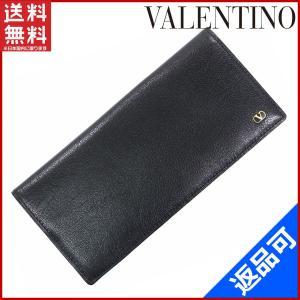 [半額セール!] ヴァレンティノ 財布 VALENTINO 長札入れ 中古 X10047 brands