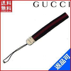 [半額セール!] グッチ GUCCI 携帯ストラップ レッドライン 中古 X10179|brands