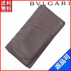 ブルガリ BVLGARI 財布 長札入れ 中古 X10240|brands