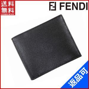 フェンディ FENDI 財布 二つ折り札入れ 中古 X10360 brands
