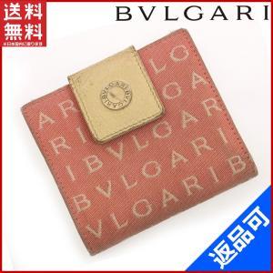 ブルガリ BVLGARI 財布 二つ折り財布 ロゴマニア 中古 X10376|brands