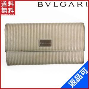 ブルガリ BVLGARI 財布 長財布 ロゴプレート 中古 X10525|brands