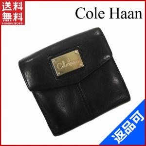 b3683b5b42fb コールハーン Cole Haan 財布 二つ折り財布 Wホック財布 中古 X10667
