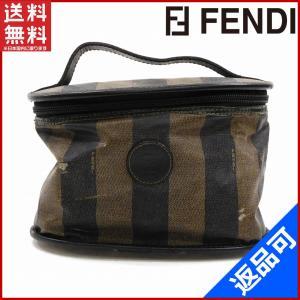 フェンディ FENDI バニティ 化粧ポーチ ペカン 中古 X10745 brands