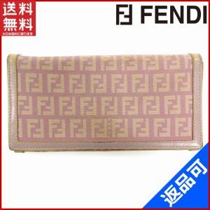 フェンディ FENDI 財布 長財布 ズッキーノ 中古 X10854 brands