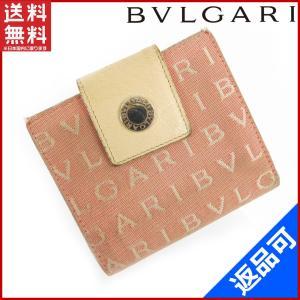 ブルガリ BVLGARI 財布 二つ折り財布 ロゴマニア 中古 X10895|brands