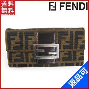 フェンディ FENDI 財布 長財布 ズッカ 中古 X10953 brands