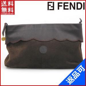 フェンディ FENDI バッグ セカンドバッグ ポーチ 中古 X11122 brands