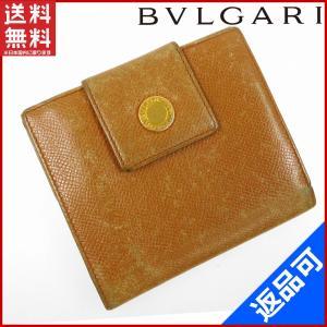 ブルガリ BVLGARI 財布 二つ折り財布 Wホック財布 中古 X11133|brands