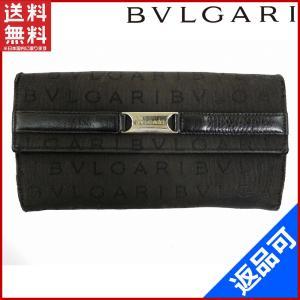 ブルガリ BVLGARI 財布 長財布 ロゴマニア 中古 X11412|brands