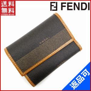 フェンディ FENDI キーケース 8連 ペカン 中古 X11507 brands