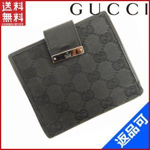 [半額セール!] グッチ 財布 GUCCI 二つ折り財布 GGキャンバス 中古 X12770|brands