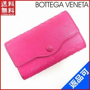 [半額セール!] ボッテガ・ヴェネタ BOTTEGA VENETA キーケース 中古 X12978|brands