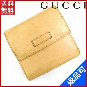 [半額セール!] グッチ 財布 GUCCI 二つ折り財布 グッチシマ 中古 X14341|brands