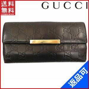 [半額セール!] グッチ 財布 GUCCI 長財布 グッチシマ 中古 X14378|brands