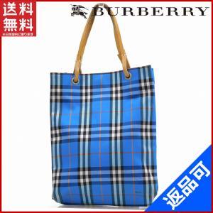 [半額セール!] バーバリー バッグ BURBERRY ハンドバッグ ノバチェック 中古 X14524|brands