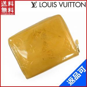 d3c9ec41c003 ルイヴィトン LOUIS VUITTON 財布 二つ折り財布 ラウンドファスナー財布 ジッピーコインパース ヴェルニ 中古 X14946