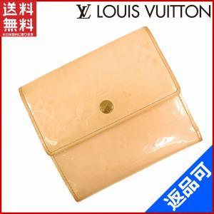 1a3cc8aab3b9 ルイヴィトン LOUIS VUITTON 財布 二つ折り財布 Wホック財布 M91169 ポルトモネビエカルトクレディ ヴェルニ 中古 X15383