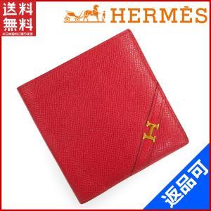 [半額セール!] エルメス 財布 HERMES 二つ折り札入れ 中古 X16388 brands