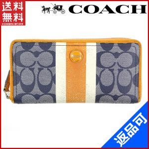 ■管理番号:X16401 【商品説明】 コーチ【COACH】の  長財布です。 ◆ランク 【6】 [...