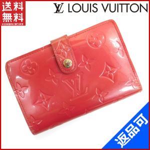 6bd2a270d7ab ルイヴィトン LOUIS VUITTON 財布 二つ折り財布 M91254 ヴィエノワ ヴェルニ 中古 X16630